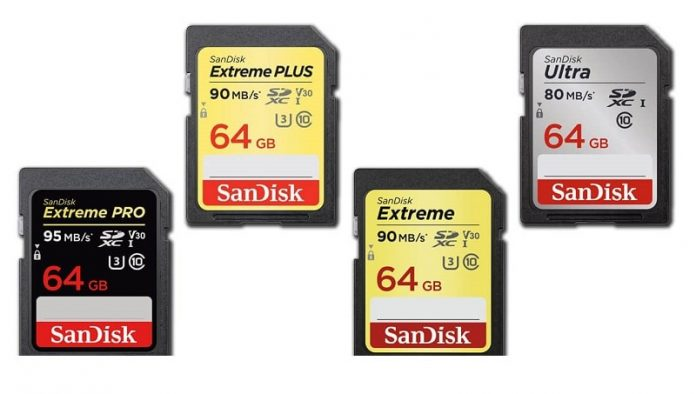 sandisk ultra vs extreme microsd