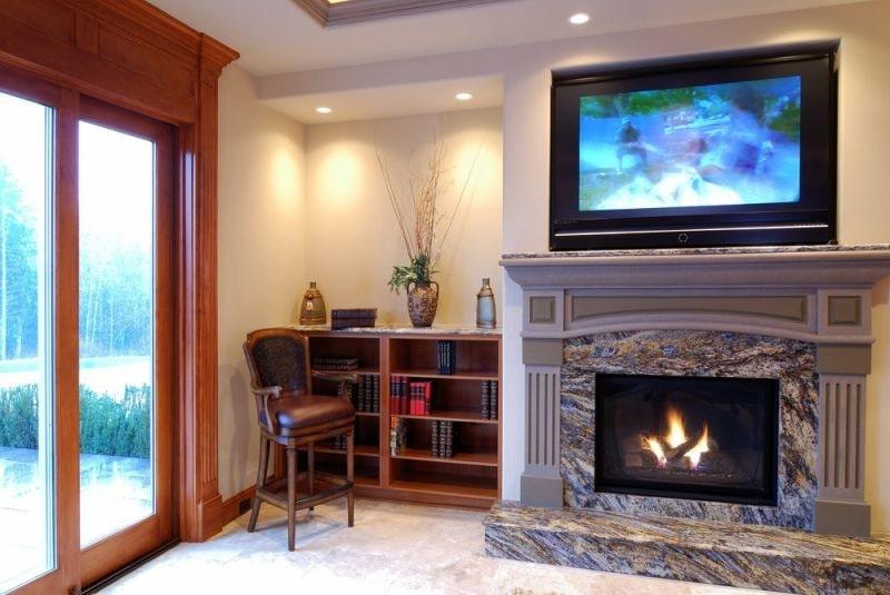 Ample insulation TV