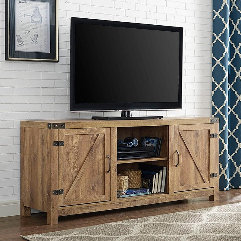 old barn wood tv stand