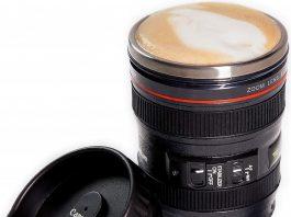 canon lens mug