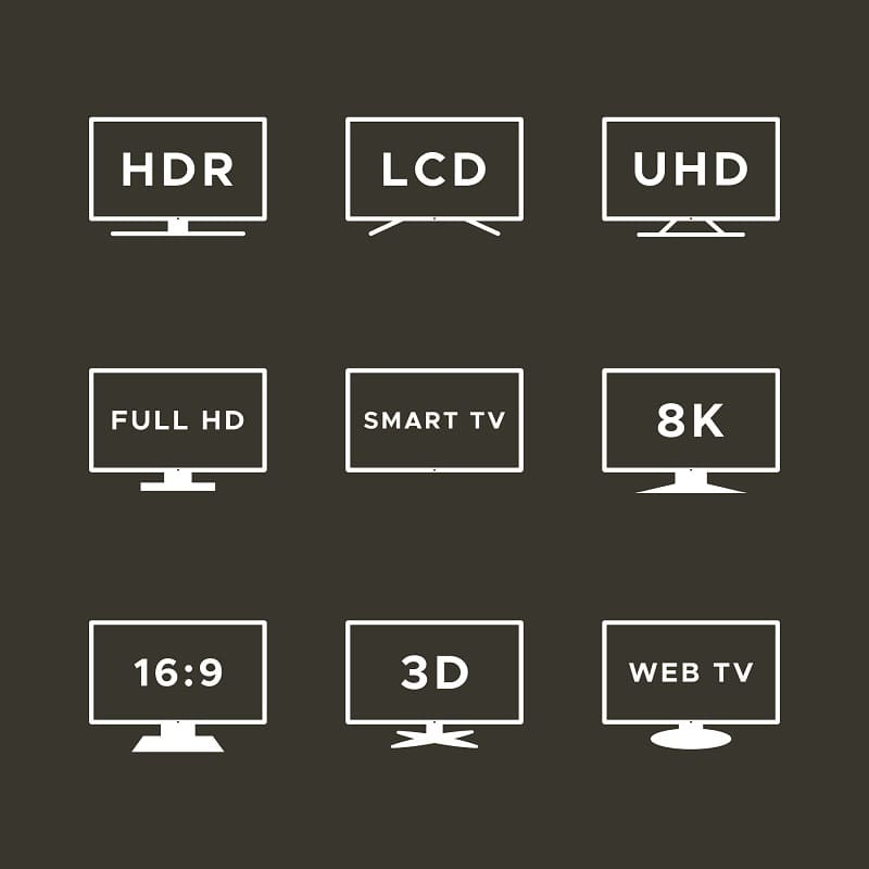tv size distance meters
