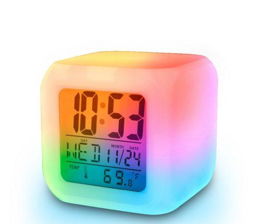 alarm clock light keeps me awake