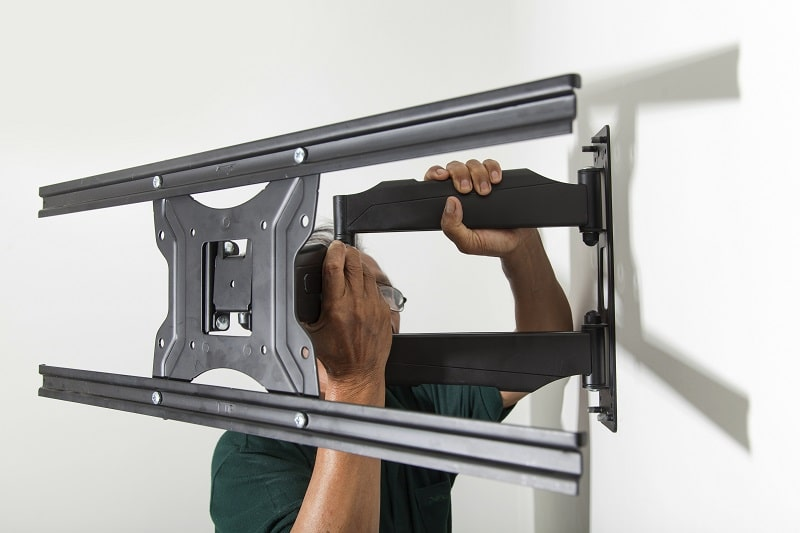 how to mount tv on wall without studs