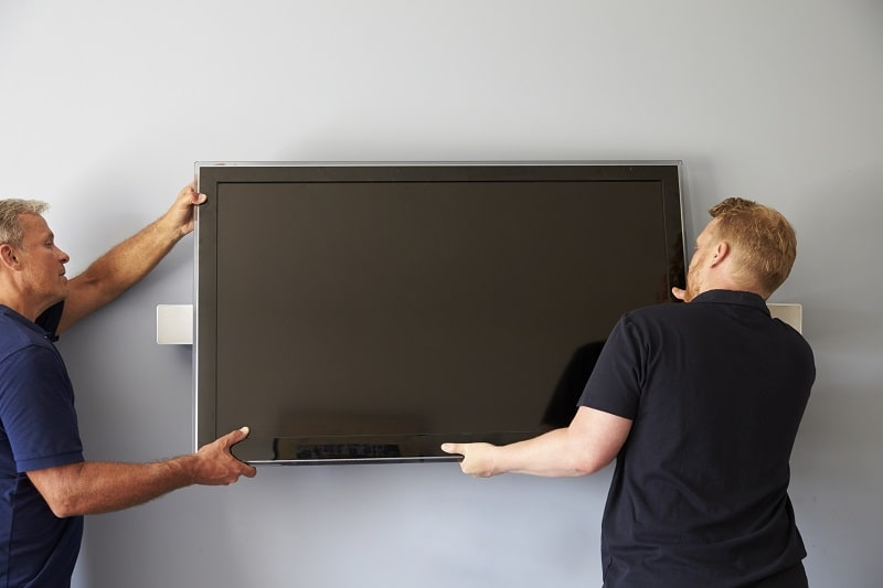 how to install tv wall mount without studs