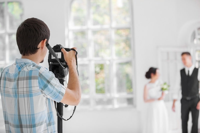 preparing for wedding photography
