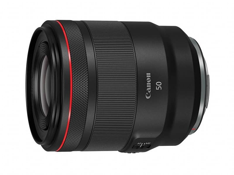best canon 50mm lens for video