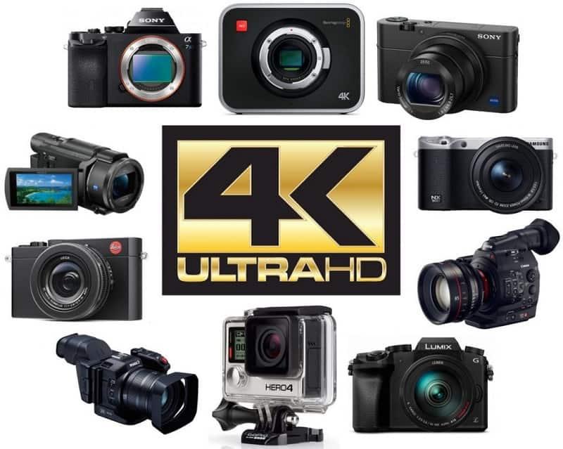 cheapest 4k camera